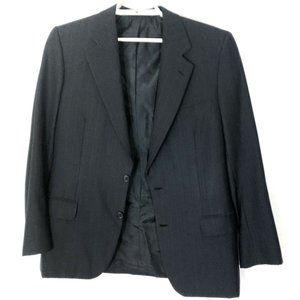 BRIONI blue  Striped  WOOL Jacket sz 42